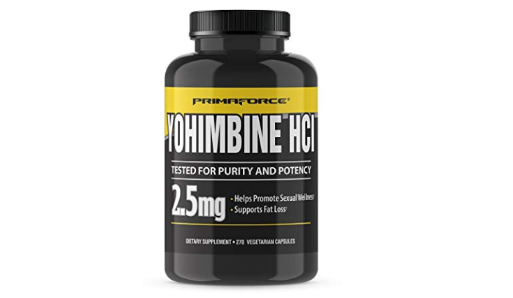 links to product description of primaforce yohimbine